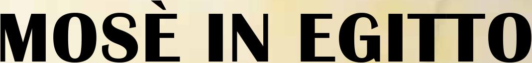 logo-Mosè in Egitto